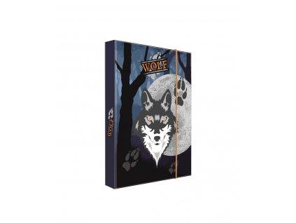 Školní box na sešity A5 Karton P+P - Vlk