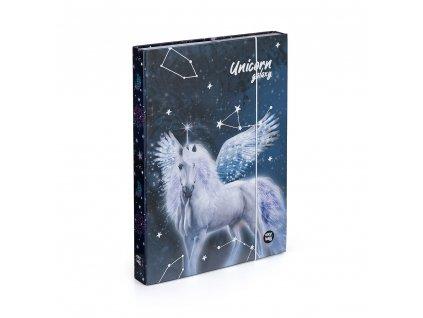 Školní box na sešity A4 Karton P+P - Unicorn 1
