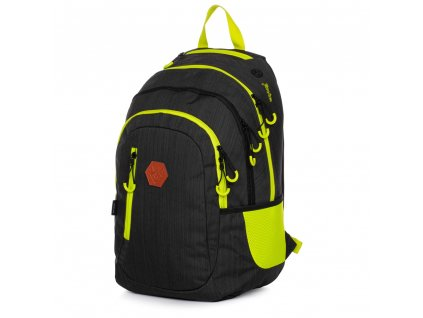 Studentský batoh OXY Campus černý, Karton P+P