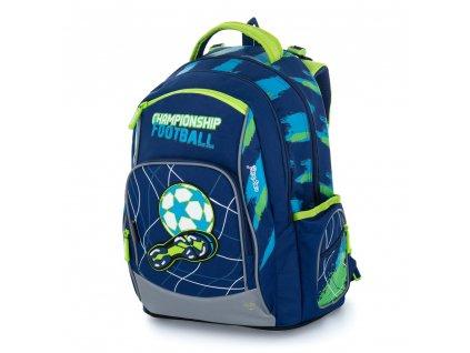Studentský batoh OXY Style Mini football blue, Karton P+P