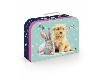 Dětský kufřík Karton P+P - mazlíčci