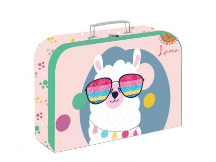 Dětský kufřík  Karton P+P - Lama