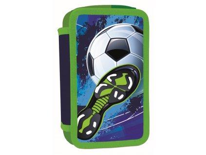 Školní třípatrový penál Karton P+P - Fotbal