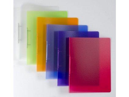Dvoukroužkový pořadač  Karton P+P A4  Opaline,20 mm - mix barev