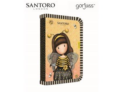 Školní penál jednopatrový P+P Karton - Santoro - Bee-loved
