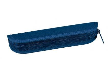 Pouzdro na tužky jednobarevné Stil - modrá S