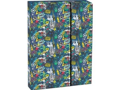 Školní box na sešity A5 Stil - Comics