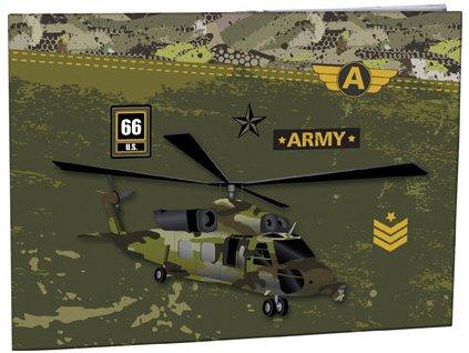Desky na číslice Stil - Army