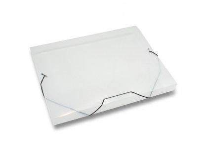 3chlopňové deskyTransparent, A4, hřbet 30 mm, transparentní