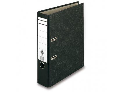 Pákový pořadač Basic, černý, hřbet 70 mm