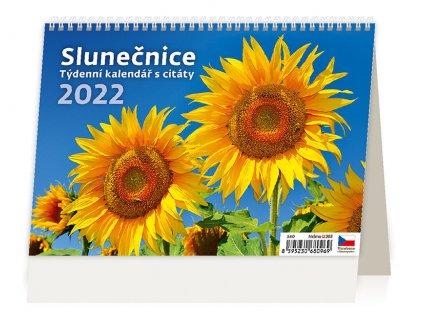Týdenní kalendář Slunečnice 2022