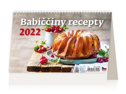Kalendář Babiččiny recepty 2022