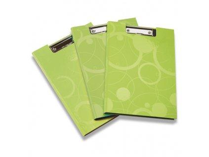 Psací podložka s klipem uzavíratelná Neo Colori, A4, zelená