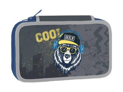 Školní dvoupatrový penál Stil - Cool bear