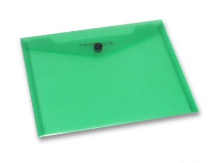 Spisovka sdrukem, A5, zelená