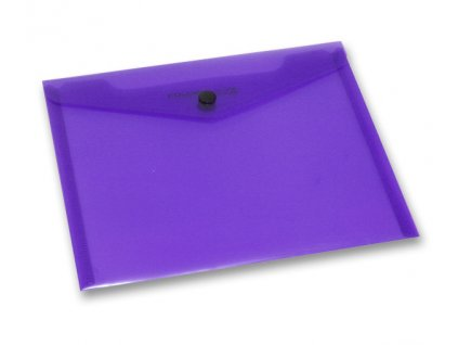Spisovka sdrukem, A5, fialová