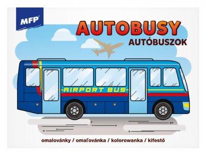 Omalovánky MFP Autobusy
