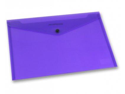 Spisovka sdrukem, A4, fialová