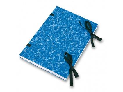 Desky s tkanicí, modré