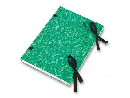 Desky s tkanicí, zelené