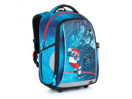 Školní batoh pro kluky Bagmaster MARK 21 A  + Dárek zdrama voskovky 8,2mm  K-I-H -12 barev