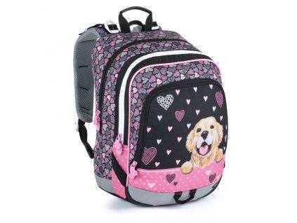 Školní batoh pro prvňáčky Bagmaster Alfa 21 A  + Dárek zdrama voskovky 8,2mm  K-I-H -12 barev