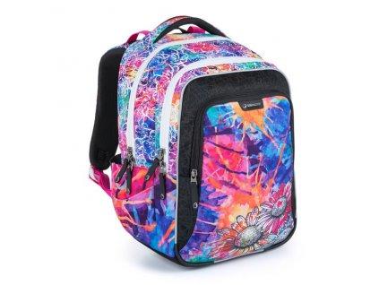 Školní batoh pro prvňáčky Bagmaster Lumi 21 A  + Dárek zdrama voskovky 8,2mm  K-I-H -12 barev