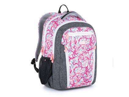 Dívčí školní batoh Bagmaster Boston 21 A