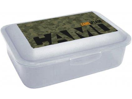Box na svačinu Karton P+P Army