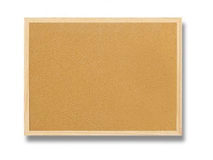 Korková tabule, 60 x 80 cm