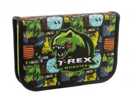 Školní penál jednopatrový Stil - T-rex