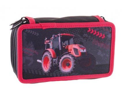 Školní dvoupatrový penál Stil - Traktor