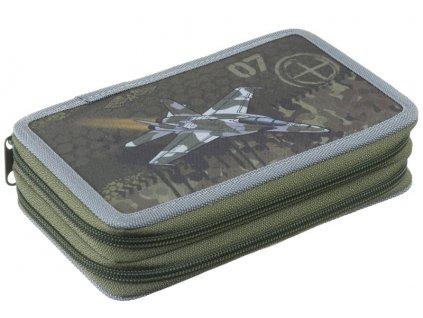 Školní dvoupatrový penál Stil - Air force
