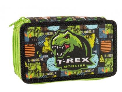 Školní třípatrový penál Stil - T-rex