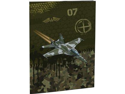 Desky na abecedu Stil A4 - Air Force