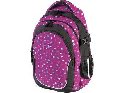 Studentský batoh Stil - Glitter  + Dárek zdarma Gumovací liner Pilot