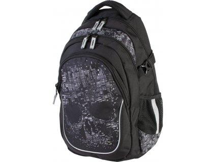 Studentský batoh Stil - Dark  + Dárek zdarma Gumovací liner Pilot
