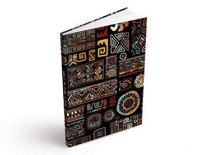 Záznamová kniha A5 MFP Etno 100 listů - čistá