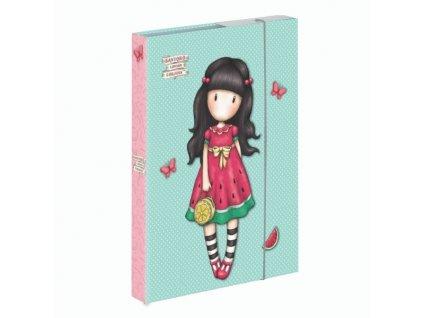 Školní box na sešity jumbo A4 Karton P+P - Santoro - Every Summer Has A Story