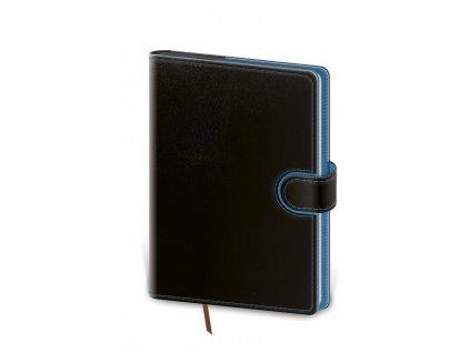 Diář Stil 2022 A5 denní Flip - Modro-černý