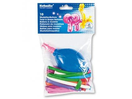 Modelovací balonky - 10 ks