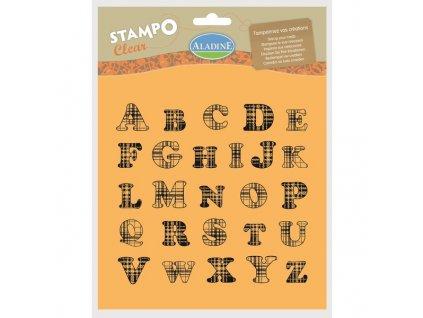 StampoClear, abeceda velká, anglický styl
