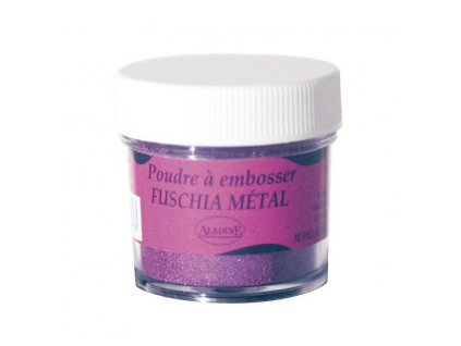 Embosovací prášek, 30 ml, vínový metalický