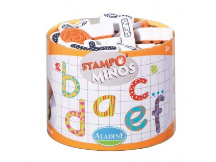 StampoMinos, malá abeceda