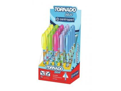 Školní pero TORNADO blue 2675