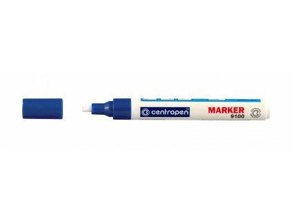 Lakový značkovač Centropen 9100 stopa 1-5 mm - mix barev