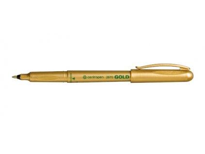 Zlatý fix Centropen 2670
