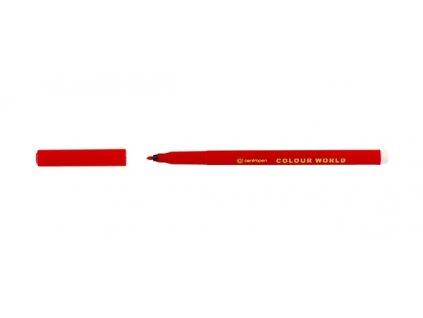 Dětské fixy Colour World 7550 červená