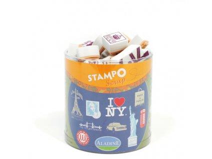Stampo Scrap, Londýn-New York- Paříž