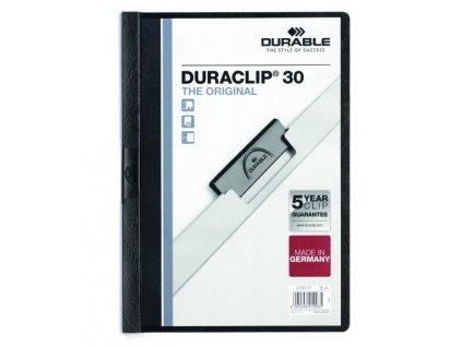 DURACLIP 30-černá